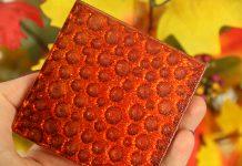 Jesienna podkładka pod kubek z płytki