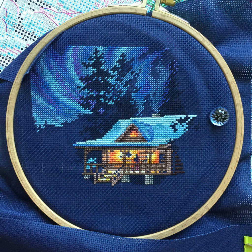 Zimowa chatka - 30 czerwca 2019.