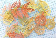 DIY: Jesienne liście